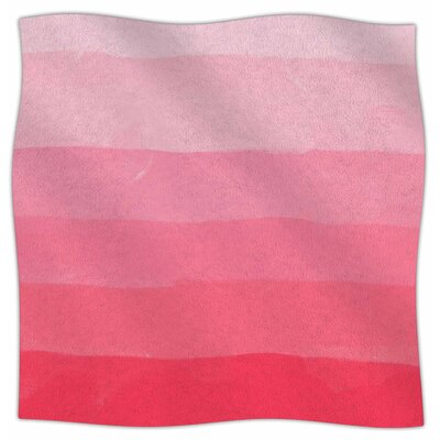 Ombre Layer Cake By Chelsea Victoria Fleece Blanket Size: 80 L x 60 W x 1 D