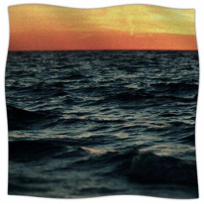 Laguna By Chelsea Victoria Fleece Blanket Size: 80 L x 60 W x 1 D