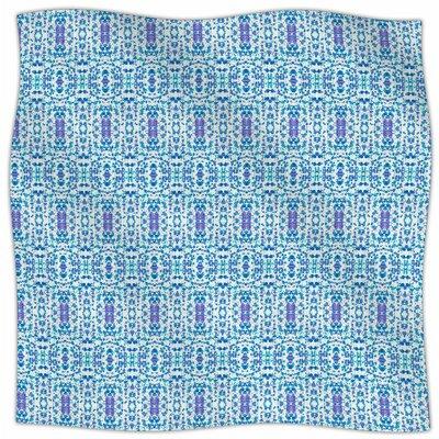 Shabby By Carolyn Greifeld Fleece Blanket Size: 80 L x 60 W x 1 D
