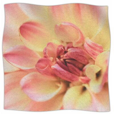 Pastels Of Spring By Debbra Obertanec Fleece Blanket Size: 60 L x 50 W x 1 D
