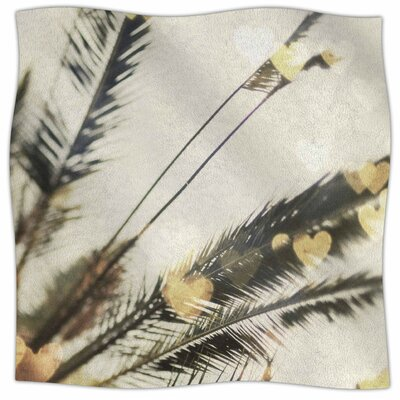 California Love By Chelsea Victoria Fleece Blanket Size: 80 L x 60 W x 1 D