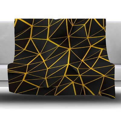 Poly by Danny Ivan Fleece Blanket Size: 50 W x 60 L