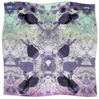 Geometrical Jumper By Danii Pollehn Fleece Blanket Size: 80 L x 60 W x 1 D