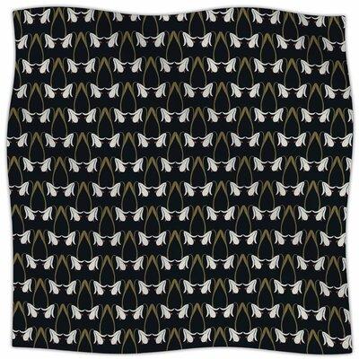 Lilies By Mayacoa Studio Fleece Blanket Size: 80 L x 60 W x 1 D