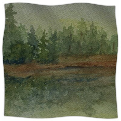 Reflections By Cyndi Steen Fleece Blanket Size: 60 L x 50 W x 1 D