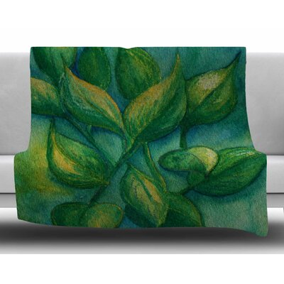 Beginnings by Cyndi Steen Fleece Blanket Size: 50 W x 60 L