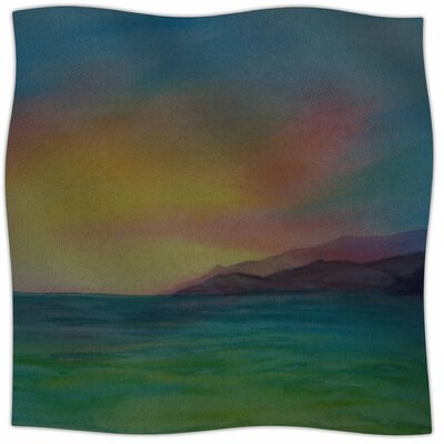 Christys Island By Cyndi Steen Fleece Blanket Size: 60 L x 50 W x 1 D