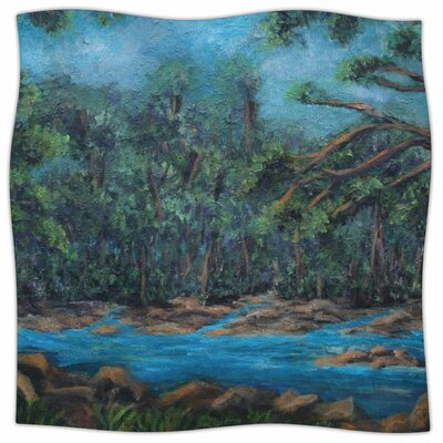Dont Cut Me Down By Cyndi Steen Fleece Blanket Size: 80 L x 60 W x 1 D