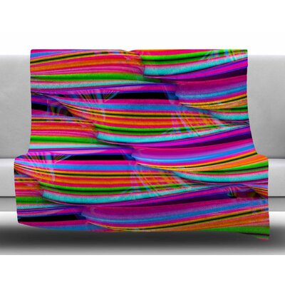 Super Candy by Danny Ivan Fleece Blanket Size: 50 W x 60 L
