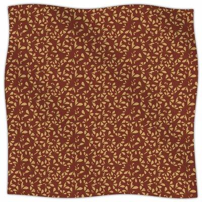 Under The Golden Hour By Mayacoa Studio Fleece Blanket Size: 80 L x 60 W x 1 D