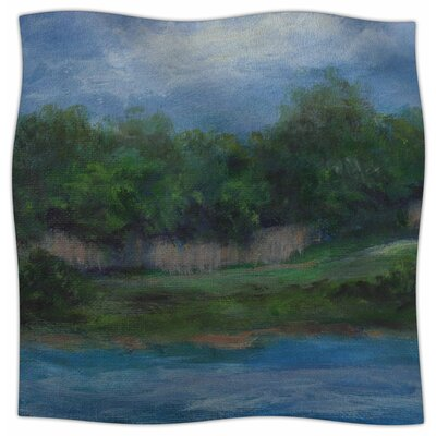 A Cooler View By Cyndi Steen Fleece Blanket Size: 80 L x 60 W x 1 D