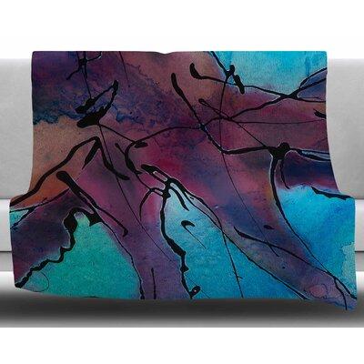 Lets Move by Josh Serafin Fleece Blanket Size: 60 W x 80 L