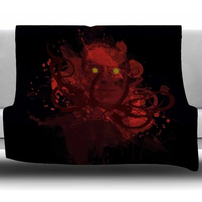 Miskatoninked Fedrick Levy Hadida Fleece Blanket Size: 50 W x 60 L