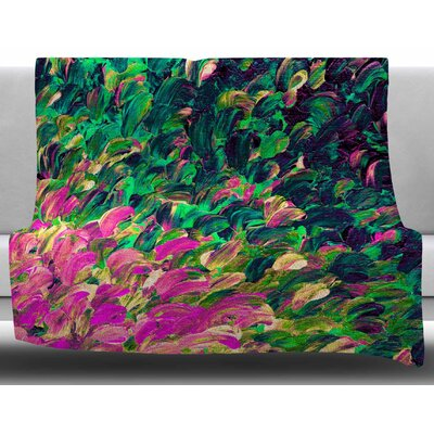 Follow the Current by Ebi Emporium Fleece Blanket Size: 60 W x 80 L
