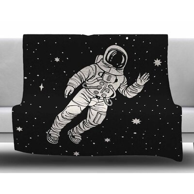 Space Adventurer Fleece Blanket Size: 60 W x 80 L