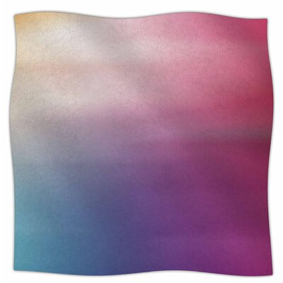 Color Rush By Chelsea Victoria Fleece Blanket Size: 80 L x 60 W x 1 D