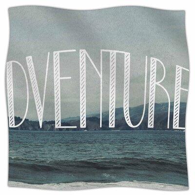 Adventure By Chelsea Victoria Fleece Blanket Size: 60 L x 50 W x 1 D