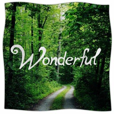 Wonderful By Chelsea Victoria Fleece Blanket Size: 60 L x 50 W x 1 D