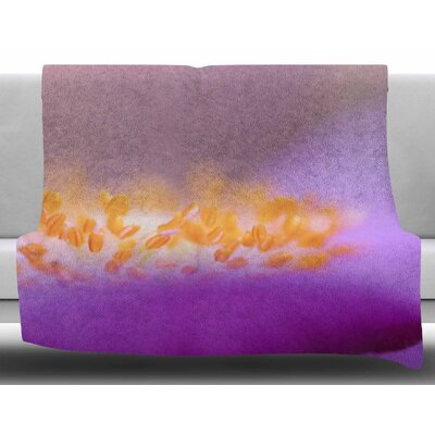 Grace by Iris Lehnhardt Fleece Blanket Size: 60 W x 80 L