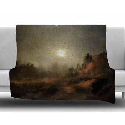 Calling The Sun by Viviana Gonzalez Fleece Blanket Size: 60 W x 80 L