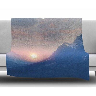 Pastel Vibes 08 by Viviana Gonzalez Fleece Blanket Size: 50 W x 60 L