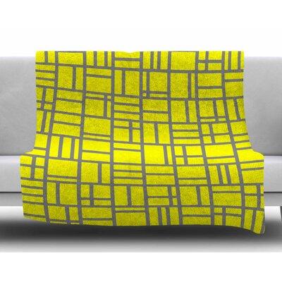 Kutije V.4 by Trebam Fleece Blanket Size: 50 W x 60 L