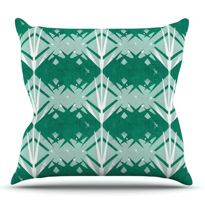 Diamond by Alison Coxon Outdoor Throw Pillow