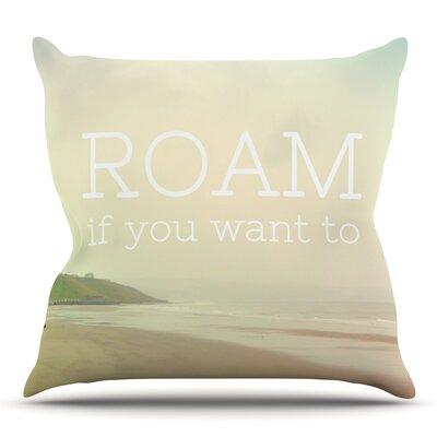 Roam by Alison Coxon Outdoor Throw Pillow