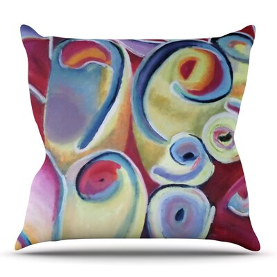 Groovy by Cathy Rodgers Outdoor Throw Pillow