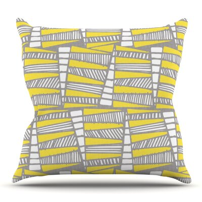 Jaggi by Gill Eggleston Outdoor Throw Pillow