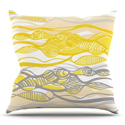 Kalahari by Gill Eggleston Outdoor Throw Pillow