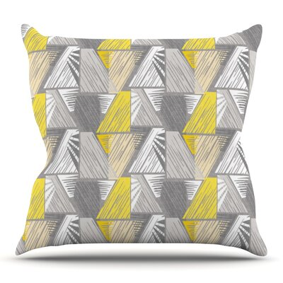 Linford by Gill Eggleston Outdoor Throw Pillow