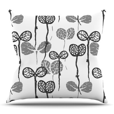 Seedlings of Change by Gill Eggleston Outdoor Throw Pillow