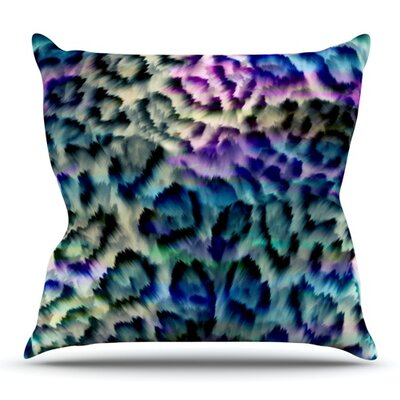 Wild by Gabriela Fuente Outdoor Throw Pillow