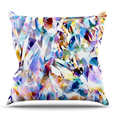 Buzz by Gabriela Fuente Outdoor Throw Pillow