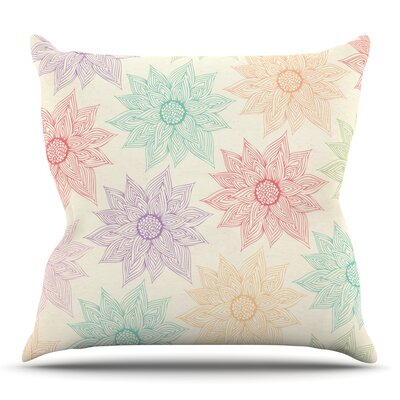 Spring Florals by Pom Graphic Design Outdoor Throw Pillow