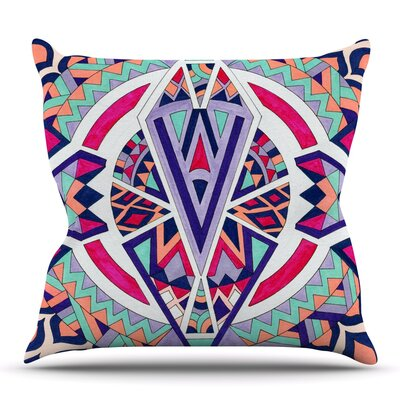 Abstract Journey by Pom Graphic Design Outdoor Throw Pillow