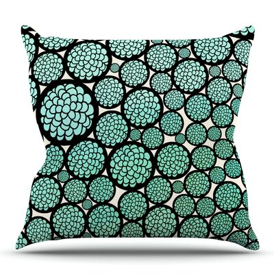 Blooming Trees by Pom Graphic Design Outdoor Throw Pillow