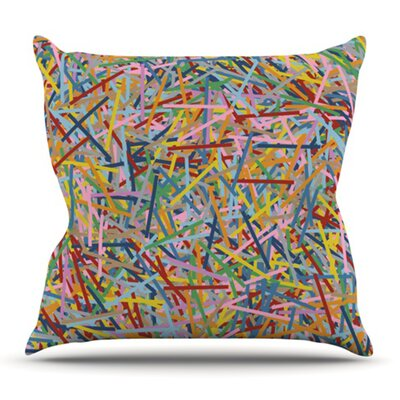 More Sprinkles by Project M Outdoor Throw Pillow