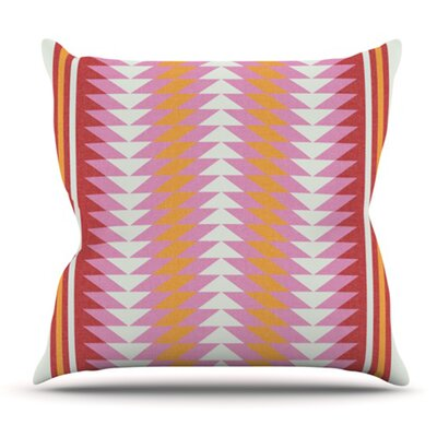 Bomb Pop by Skye Zambrana Outdoor Throw Pillow