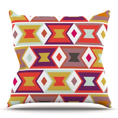 Aztec Weave by Pellerina Design Outdoor Throw Pillow