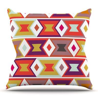 Aztec Weave by Pellerina Design Outdoor Throw Pillow