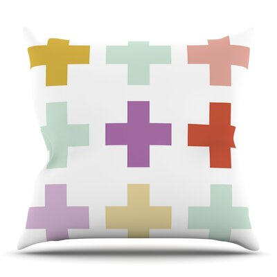 Orchid Plus by Pellerina Design Outdoor Throw Pillow