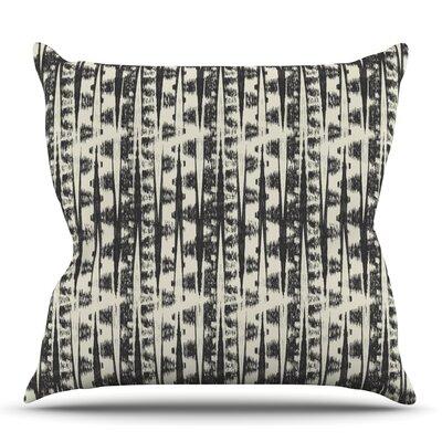Abstract by Amanda Lane Outdoor Throw Pillow