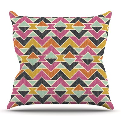 Sequoyah Arrows by Amanda Lane Outdoor Throw Pillow