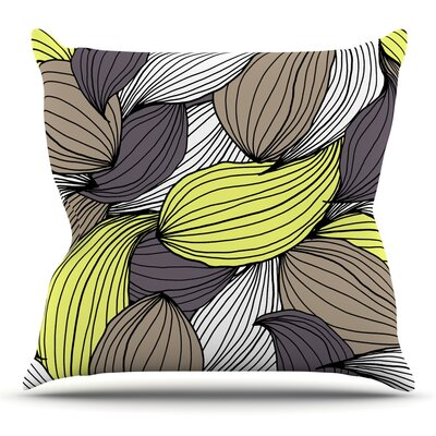 Wild Brush by Gabriela Fuente Outdoor Throw Pillow