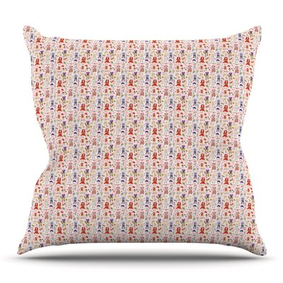 Miss Ruby by Holly Helgeson Outdoor Throw Pillow
