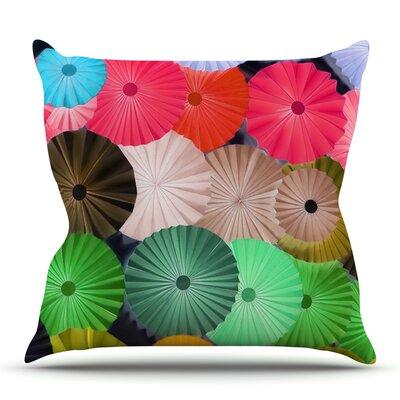 Parasol by Heidi Jennings Outdoor Throw Pillow
