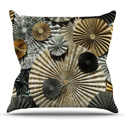 All That Glitters by Heidi Jennings Outdoor Throw Pillow