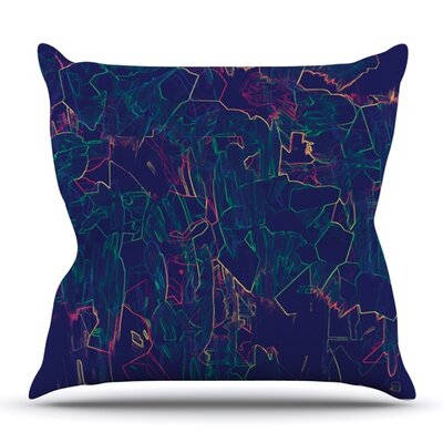 Night Life by Kathryn Pledger Outdoor Throw Pillow
